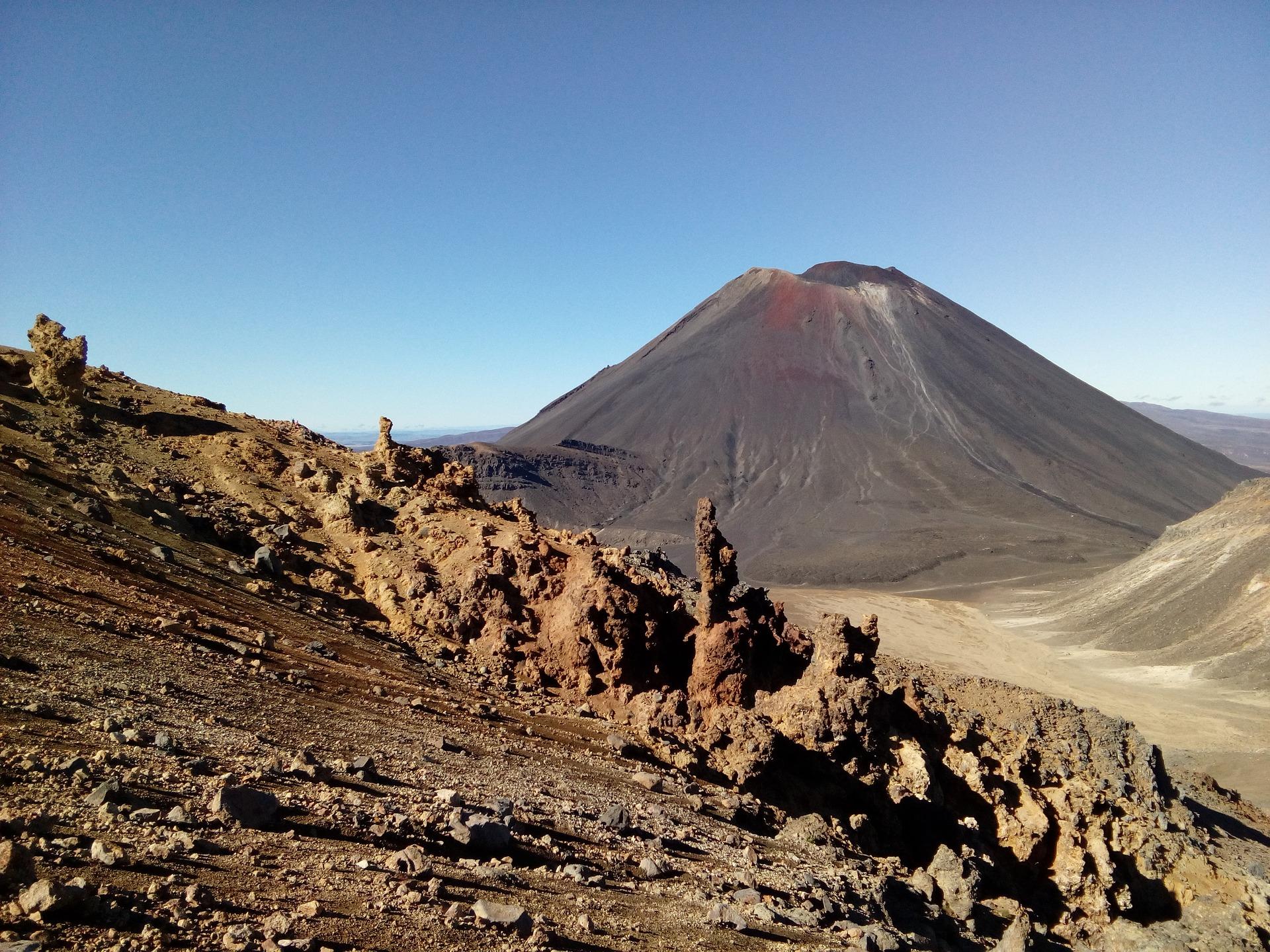 Mount Doom, maar dan die in Nieuw Zeeland